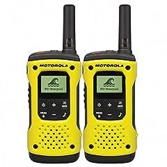 Motorola TLKR T92 H2O PMR radio (IP67, väderbeständig, räckvidd upp till 10 km), 2 stycken