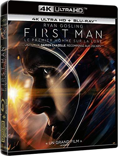 First Man-Le Premier Homme sur la Lune [4K Ultra HD + Blu-Ray]
