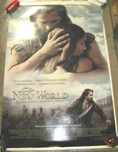 THE NEW WORLD / ORIGINAL U.S. ONE-SHEET MOVIE POSTER (TERENCE MALICK)