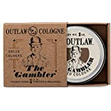 The Gambler Bourbon-inspired Solid Cologne - The Warm Smell of Whiskey and Old-fashioned Tobacco, Finished with a Hint of Leather; Smells like Fortune and Boldness - Men's or Women's Solid Cologne 1oz