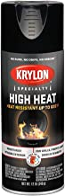 Krylon K01618777 High Heat Satin Black