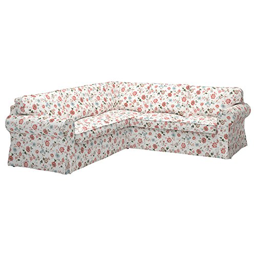 Ikea Original Ektorp Cover for sectional, 4-Seat Corner (Cover Only (Videslund Multicolor)