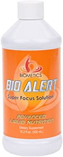 Focus Supplements. Bio Alert From Biometics Gives You with the Focus, Energy, Mental Clarity, and Memory Everyday. Contain...
