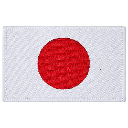 Blitz Unisex's Japanse vlag geborduurde badge, meerkleurig, één maat