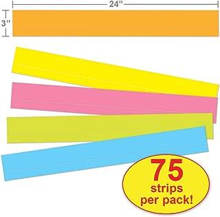 Carson Dellosa Sentence Strips, Lined Multicolored Sentence Strips (4451)