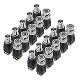 Conectores BNC para CCTV cámaras (10machos + 10hembras), de PChero