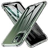 LUIBOR Per iPhone 11 PRO Case, Cover Protettiva Morbida Trasparente AntiGraffio TPU Case per iPhone...