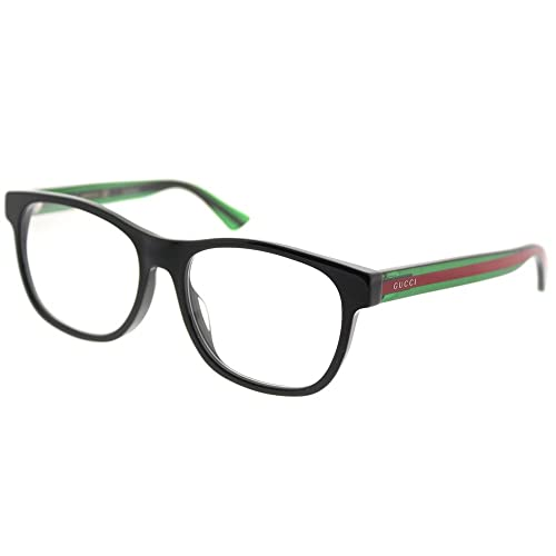 1bb577234c9 Gucci GG 0004OA Asian Fit Plastic Square Eyeglasses 55mm