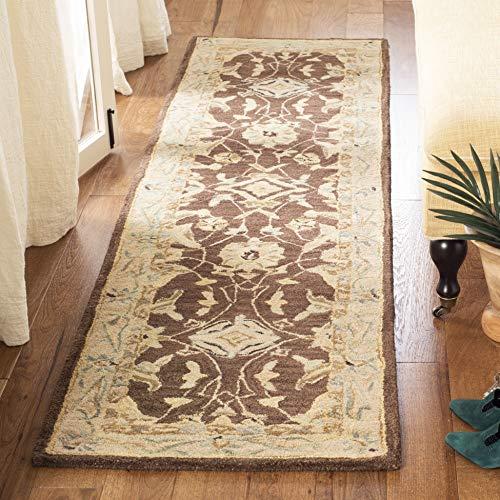 Safavieh Anatolia Collection AN545B Handmade Traditional Oriental Premium Wool Runner, 2'3