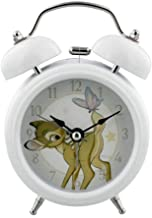 Widdop Disney Magical Beginnings Children's Double Bell Alarm Clock   Bambi