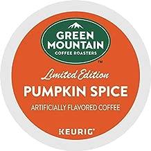 Green Mountain Coffee Roasters Pumpkin Spice Keurig Single-Serve K-Cup Pods, Light Roast Coffee, 72 Count