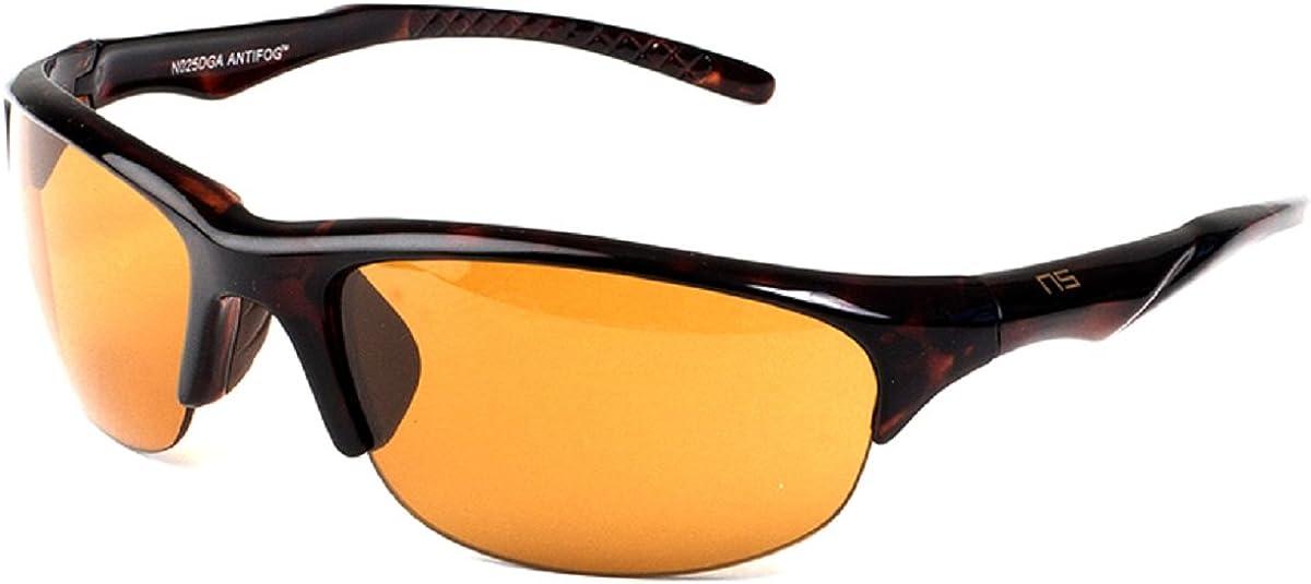 unisex Cheap Naute Sport Hope Anti-Fog Tortoise Amber Sunglasses 6 Frame Lens