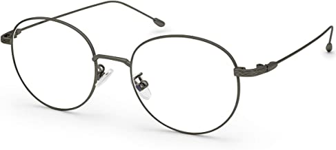 Livho Blue Light Blocking Glasses Anti Glare UV Filter Retro Round Ultra Lightweight Computer Gaming Glasses - LI1632