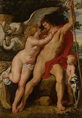 Berkin Arts Rubens Giclée Leinwand Prints Gemälde Poster Reproduktion (Venus und Adonis)