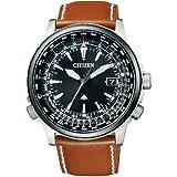 [シチズン]CITIZEN 腕時計 PROMASTER プロマスター エコ・ドライブ 電波時計 スカイシリーズ ダイレクトフライト針表示式 CB0134-00E メンズ