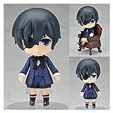 SXhyf 2020new Mayordomo Negro Anime Figuras Kuroshitsuji Ciel Lindo Juguetes Conjunto Modelo Acción Figural Brinquedos Libro De CircoGran regalo Juguetes Figma 10cm