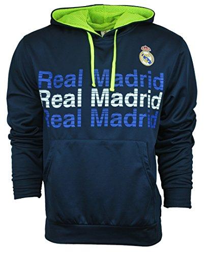 IconSports Soccer Athletic Unisex Hoodie Sweatshirt Real Madrid Large