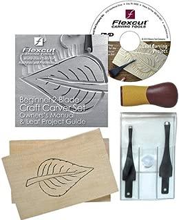 Flexcut Craft Carver 2-Blade Carving Set (SK111)