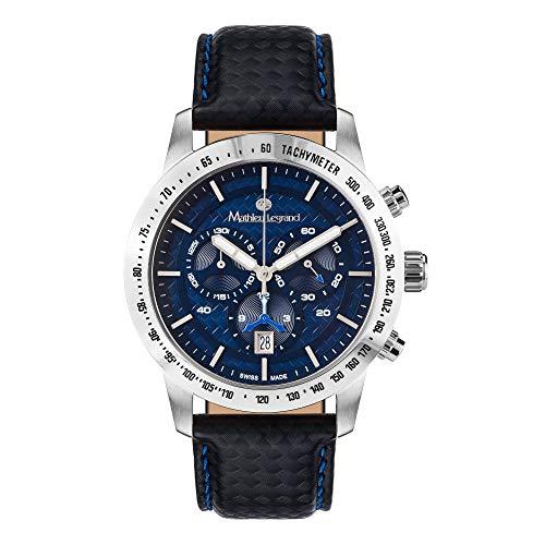 MLG-1009A Mathieu Legrand Grande Vitesse Stahl Blau