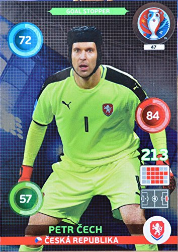 carte PANINI EURO 2016 #47 Petr Cech