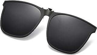 Polarized Clip On Sunglasses Oversized Anti-glare UV...