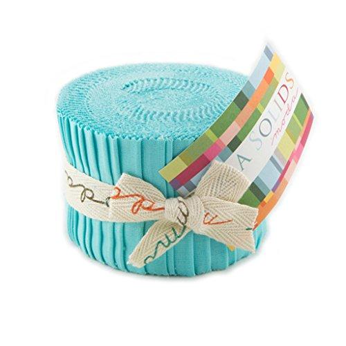 Bella Solids Parchment Junior Jelly Roll 20 2.5-inch Strips Moda Fabrics 9900JJR 39
