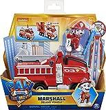 PAW PATROL Marshall's Deluxe Movie Transforming Fire Engine Toy Car con Figura de acción...