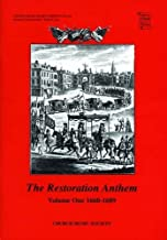 The Restoration Anthem Volume 1 1660-1689 (Church Music Society) (v. 1)
