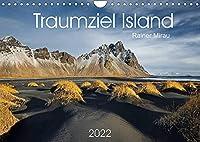 Traumziel Island 2022 (Wandkalender 2022 DIN A4 quer): Das einzigartige Land im Norden Europas in 12 traumhaften Bildern. (Monatskalender, 14 Seiten )