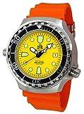 Profi Taucher Uhr Automatik Werk Saphir Glas - mit Taucher Band T0047OR