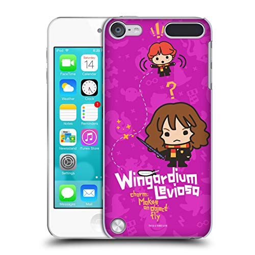 Head Case Designs Ufficiale Harry Potter Hermione Ron Incantesimo Deathly Hallows I Cover Dura per Parte Posteriore Compatibile con iPod Touch 5G 5th Gen