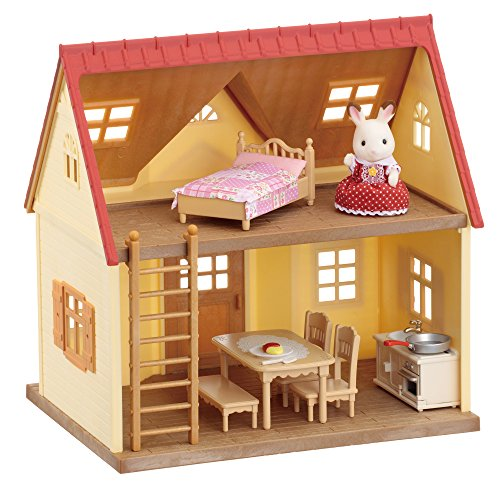 Sylvanian Families Cottage–Home Furnishings and Figurine Set