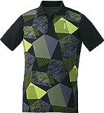 ゴーセン(GOSEN) テニス バドミントン 試合用 男女兼用 ゲームシャツ 日本ソフトテニス連盟/日本バドミントン協会審査合格品 ブラック SS T1900