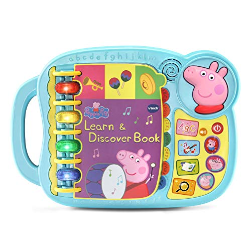 VTech Peppa Pig Learn & Discover Book Now $13.59