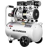 VEVOR Air Compressor 5.28 Gallon, Portable Air Compressor 1 HP, Oil Free Air Compressor Steel Tank 750W, Pancake Air Compressor 115 PSI, Ultra Quiet Compressor for Home Repair, Tire Inflation