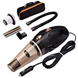RYLAN Portable and High Power Plastic 12V Car Vacuum Cleaner 4500PA Stronger Suction