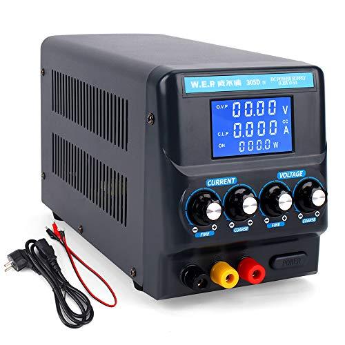 Hoch Präzision DC Stromspannung Strom Regler, Netzteil 30v 5A mit EU Leistung Kabel