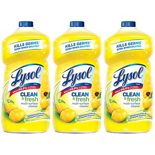 Our #1 Pick is the Lysol Clean and Fresh Multi-Surface Cleanerr