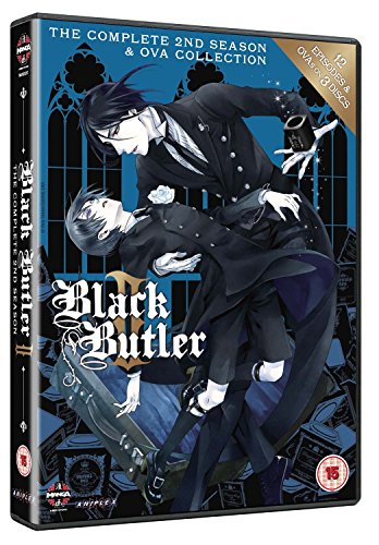Black Butler-The Complete 2Nd Season (3 DVD) [Edizione: Regno Unito] [Import]