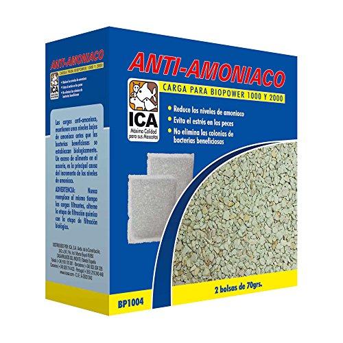 ICA BP1005 Carga Anti-Amoniaco para Filtros Biopower