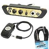 Meinl PA-CAJ Preamp Micro pour cajon + câble jack Keepdrum 6 m