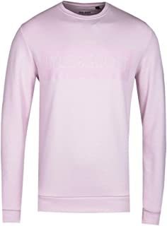 Lyle and Scott Men Flock Logo Sweatshirt - Cotton
