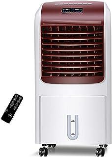 Refrigerador de aire portátil Aire acondicionado frío / calor portátil Ventiladores Refrigerador purificador humidificador con control remoto, funcionamiento con bajo nivel de ruido, 3 modos, 3 veloci