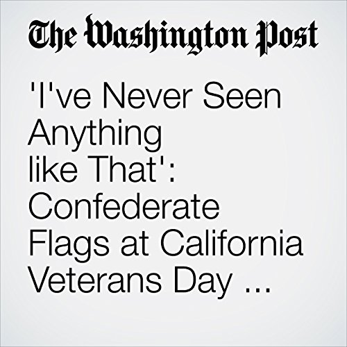 'I've Never Seen Anything like That': Confederate Flags at California Veterans Day Parade audiobook cover art