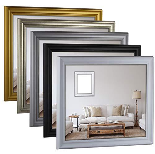 myposterframe Bilderrahmen Barock Größenwahl 59 x 84 cm Helena Gold matt mit Kunstglas klar 1 mm