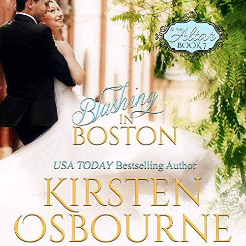 Blushing in Boston audiobook cover art