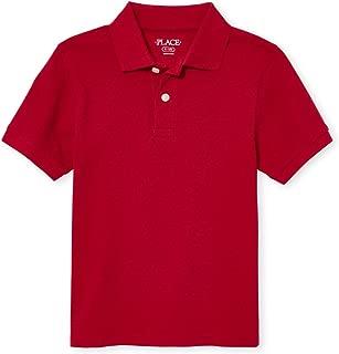 Boys' Short Sleeve Uniform Polo