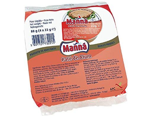 Manná, Tunpastete aus Portugal, 88 g