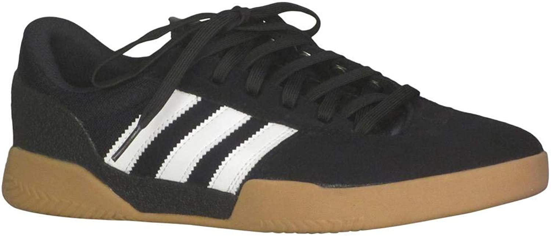Adidas Men's City Cup Indoor Court Core Black White Gum 4 8 D(M) US