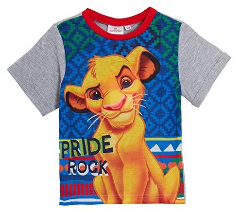 Disney - Pigiama corto per ragazzi e ragazze, motivo: Simba, personaggio de Il Re Leone Simba 1,5-2 Anni